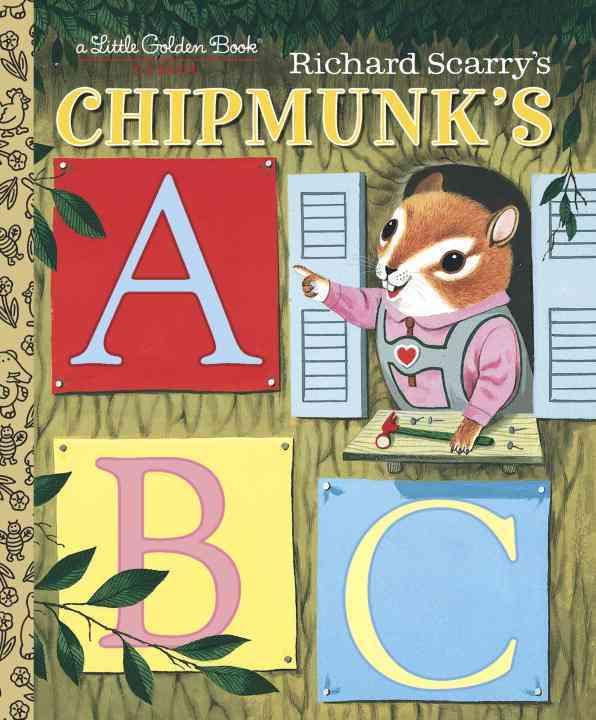 Richard Scarry's Chipmunk's ABC By Miller, Roberta/ Scarry, Richard (ILT)
